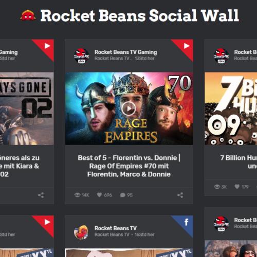 RocketMates Social Wall by RocketMates